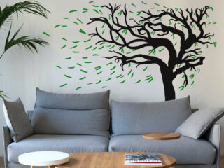 Baum Wandtattoo